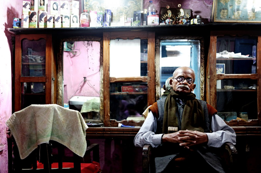 Coiffeur ( Varanasi 2014)