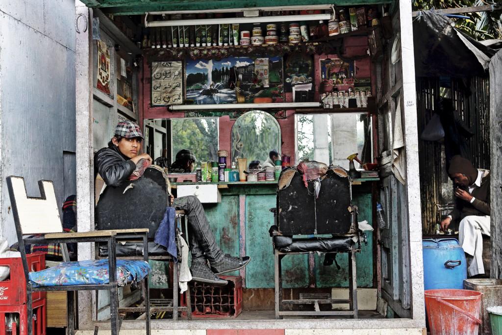 Le coiffeur ( Delhi 2014)